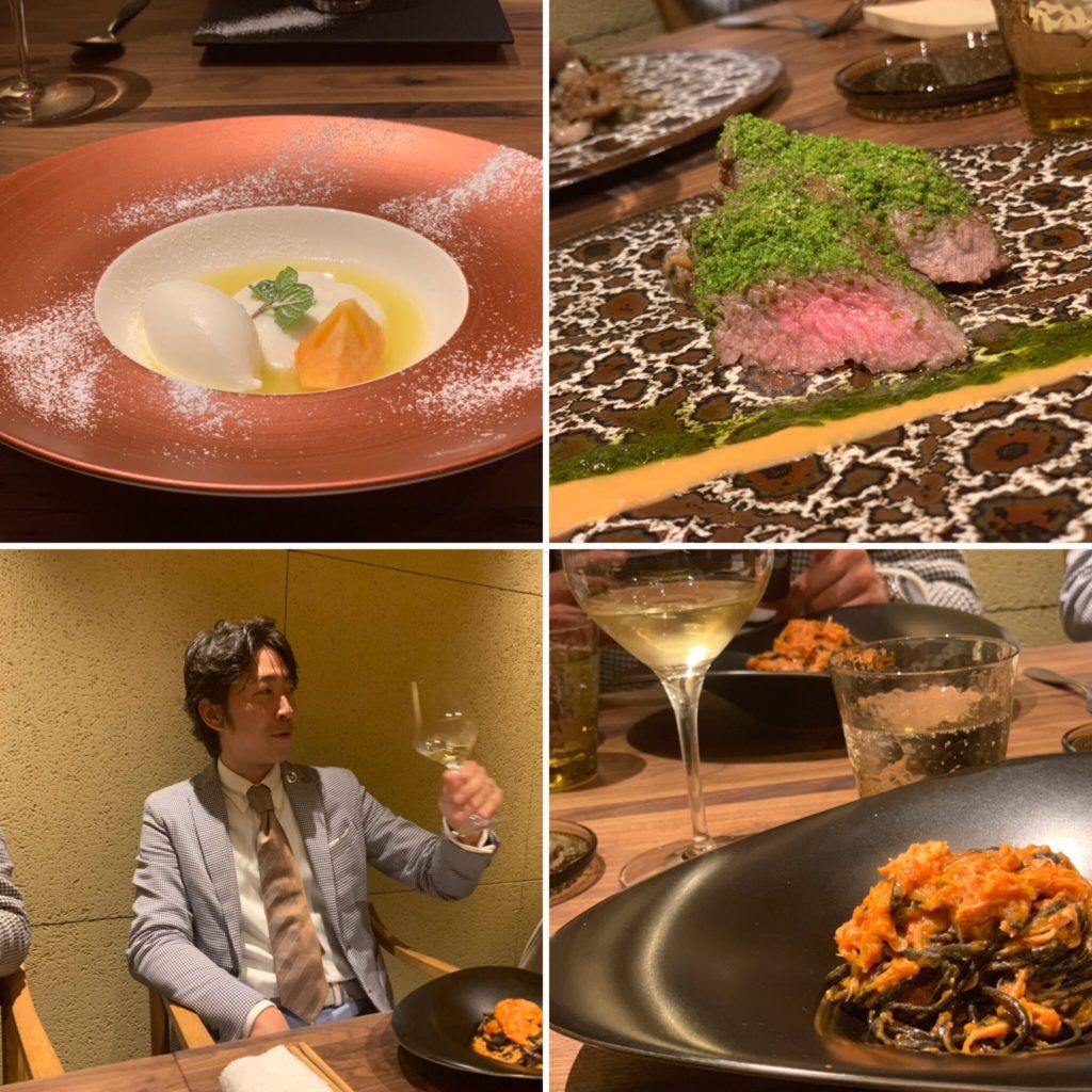絶品イタリアンと日本酒