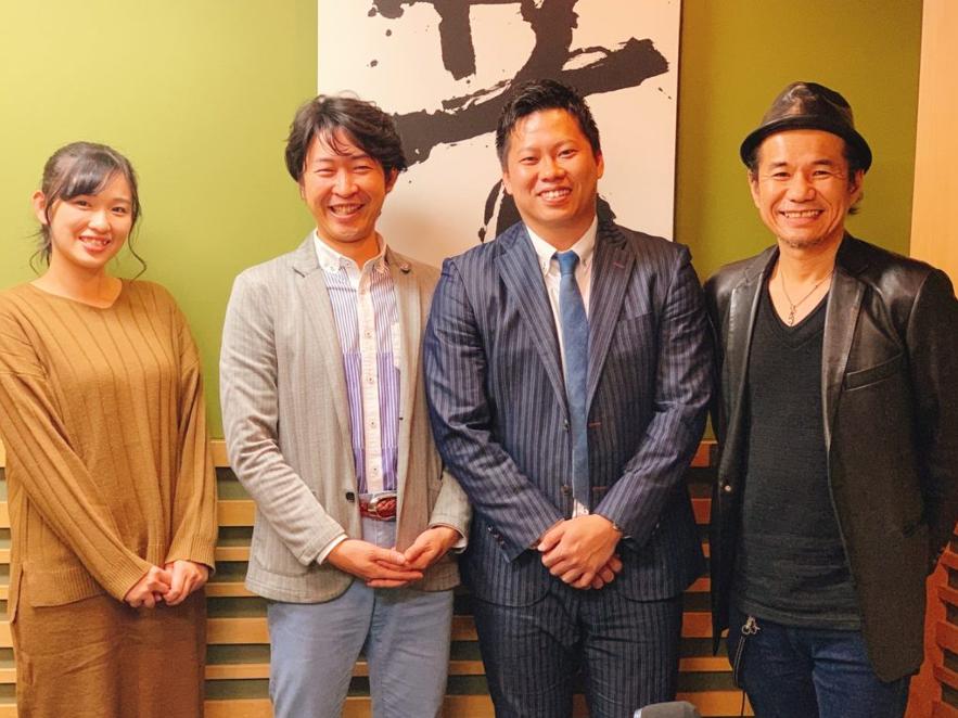 2019年12月 「GLOBAL R-VISION」FM愛知さんの番組に近藤が出演しました!