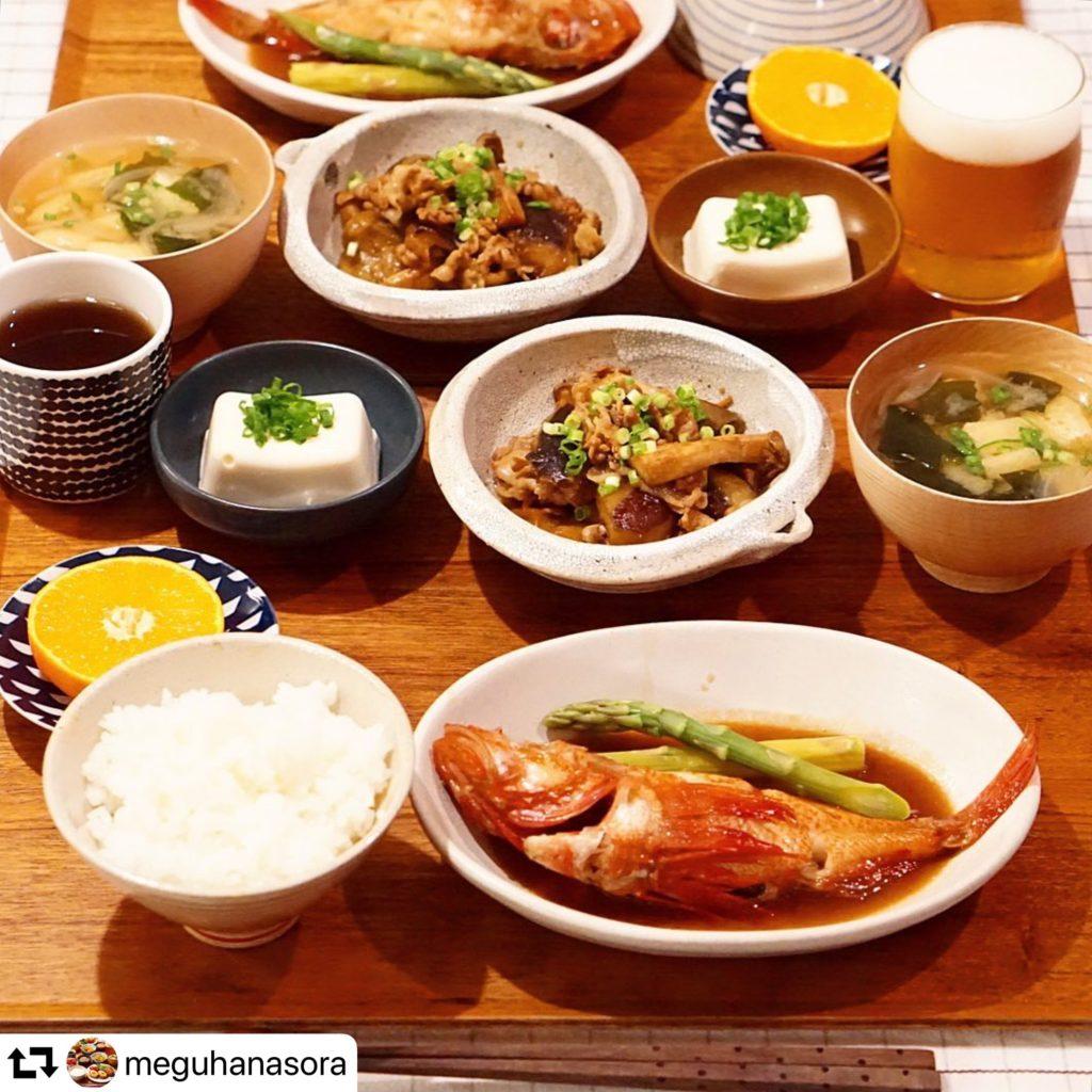【日本酒王子の「勝手にマリアージュ!」】 @meguhanasoraさんの「キンキの煮付け」編