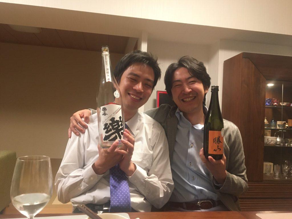 新しい門出に@十徳日本酒販売所